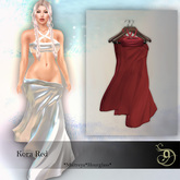 ~AtaMe~ Kora Red dress - Maitreya - Petite - Legacy - Perky - Hourglass