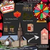 KraftWork Graceland Chapel FULL SET