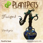 PlantPet Seed [Twisted *Verdigris*]