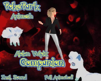 ::PokePark.:: Animesh Alolan Vulpix Companion (BOXED)