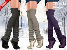 ::MA:: Quinn - Stockings - Leg warmers - Sneakers PACK