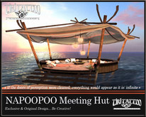 Tiki Tattoo - NAPOOPOO Meeting Hut, a tent full of pillows -> 46 MULTI-ANIMATIONS / Adjustable