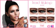 Trend Makeup - Queen Eyelashes - Fatpack