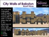 City Walls of Babylon - Brown Stone