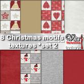 8 Christmas motifs FP set2