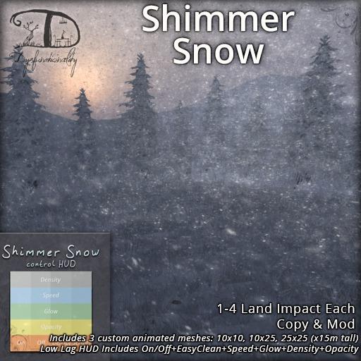 [DDD] Shimmer Snow - Low Lag Mesh Snow w/ Twinkles