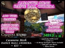 ★ 24 HOURS PROMO ★ Casanova Mesh Dance Ball Chimera - 41 mocap dances included - copy