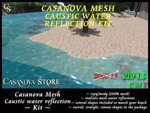 ★ SUPER PROMO ★ Casanova mesh realistic caustic water reflections kit - copy
