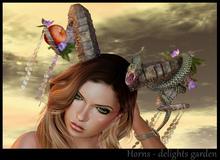 (*.*) Horns delights garden