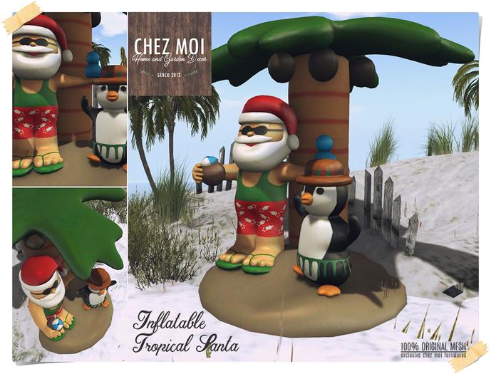 Inflatable Tropical Santa ♥ CHEZ MOI