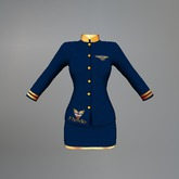 Blue Air Hostess Maitreya Uniform box