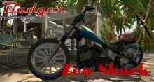[Badger Motors] Zen Shark Chopper Crate x1
