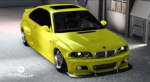 .::Indulge::. I3  widebody mello yellow