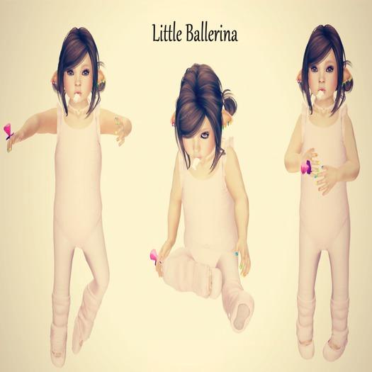 Portrait Pro Poses - (add) Little Ballerina
