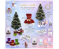 {moss&mink} All that Glitters - Candle Pack (pastel)