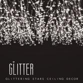Glitter Glittering Stars Ceiling Decor Mesh