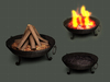 [H] Interactive Fireplace (Style 3)