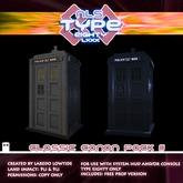 TARDIS T-80 Exteriors Classic Canon Pack 3 - Logopolis & McGann