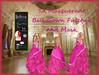 TA Masquerade Ball Gown Fuschia