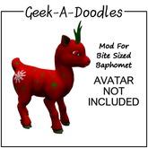 Geek-A-Doodles Baphomet Christmas Fun Mod