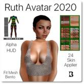 Ruth 2020 Bento Avatar 24 Skins HUD Alpha HUD