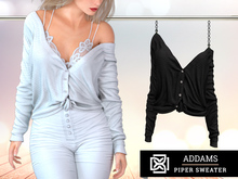Addams - Piper - Button-Front Sweater #30