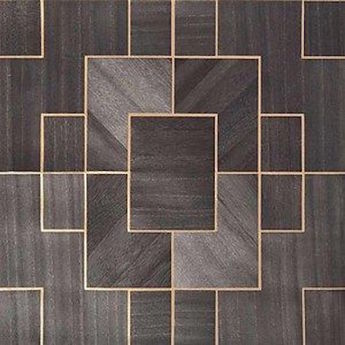 Luxurious Brown & Gold Tiles Texture - Full perm