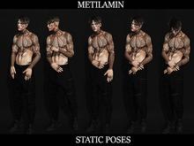 "BENTO""METILAMIN"".Male Poses .static set.47"