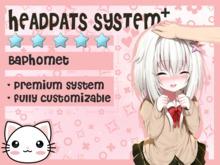 Headpats System Plus - Baphomet