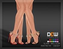 """DEW"" Talia Heels /MAITREYA /SLINK /BELLEZA /EBODY"