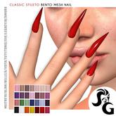 ::SG:: Classic Stileto Bento Mesh Nails - UP