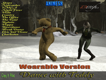 *Dench Designs* Wearable Dancer Teddy