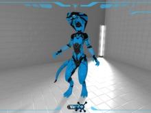 Snokra Snake - Synth Tek Skin BLUE