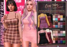 *B.D.R.* Pocket Price: Cozy Vibes -Dress w/ Sweater-