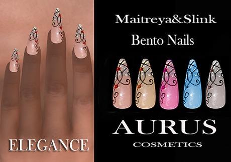 A U R U S -  ELEGANCE Bento Nails -Maitreya & Slink