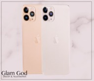 GlamGod - Cellphone 11 Silver & Gold Pack