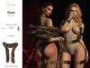 S&P Venetia stola brown (wear to unpack)
