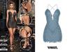 TETRA - Phoenix dress (Sea)