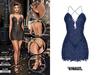 TETRA - Phoenix dress (Indigo)