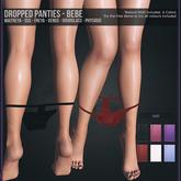 Tooty Fruity - Dropped Panties - Bebe