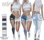 DEMO Eyelure 2-Toned Boutique Jeans  w/Fatpack HUD