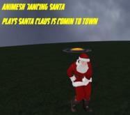 Animesh Dancing Santa