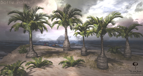 LB Bottle Palm Tree Animated FatPack