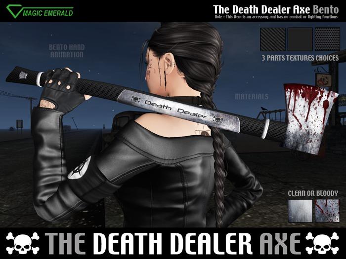 [M3] ☠ The Death Dealer Axe ☠ Bento