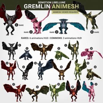 SEmotion Libellune Gremlin #19