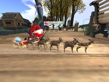 Shubbie Sleigh with Reindeer