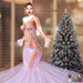 ::TD:: Serenity Gown with Appliers ~ Violet