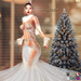 ::TD:: Serenity Gown with Appliers ~ White
