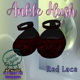 ~SWD~ Dinkie ~Ankle Hush Shoes~ Red Lace []