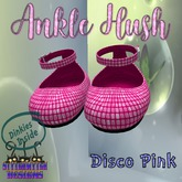 ~SWD~ Dinkie ~Ankle Hush Shoes~ Disco Pink []